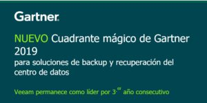 Gartner y Veeam